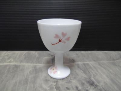 深川製磁 ロクロ師 村島昭文作 ワイングラス
